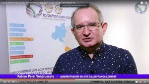 Fabian Persi Vendruscolo, administrador do lojasfrancas.com.br, mensagem 02
