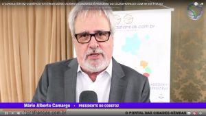 Mário Camargo Presid. do CODEFOZ, informa que Foz do Iguaçu está sendo priorizada por investidores