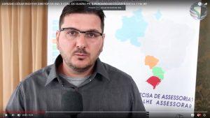 Adriano César Richter Diretor de Ind. e Com. de Guaíra/PR, é parceiro do lojasfrancas.com.br