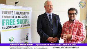 Entrevista com Ciro Carlos Emerim Simoni, Deputado Estadual do Rio Grande do Sul e Presidente da UNALE