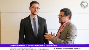 Entrevista com Anderson Pereira – Deputado Estadual de Rondônia