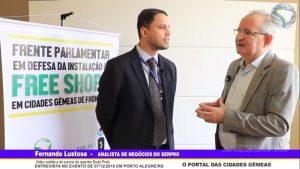 Entrevista com Fernando Lustosa, Analista de Negócios do SERPRO em 07/12/2018 no evento de Porto Alegre