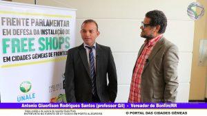 Antonio Giuerlison Rodrigues Santos (professor Gil) – Vereador de Bonfim/RR